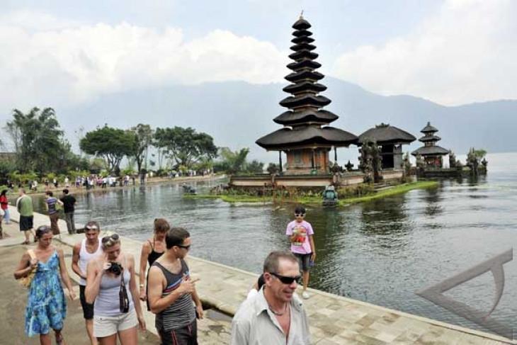 British tourists to Bali up  2.77 pct