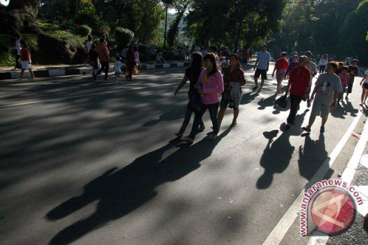 Minggu ini Car Free Day di Jalan Sudirman tetap digelar