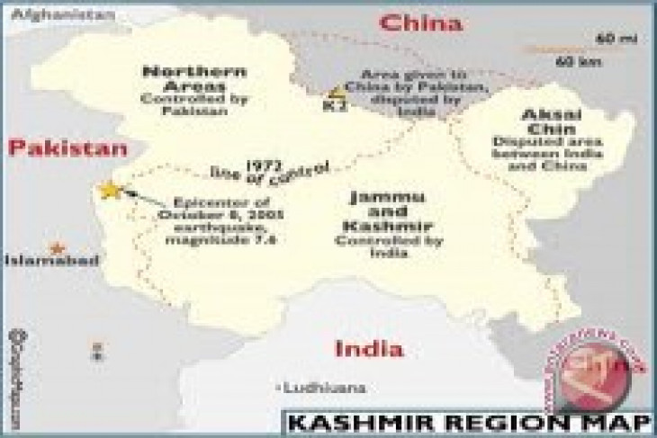 Indian troops kill 5 militants in Indian controlled Kashmir