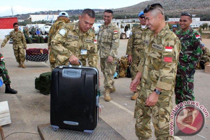 Mily contingent GarudaXXIII-F arrives in Lebanon