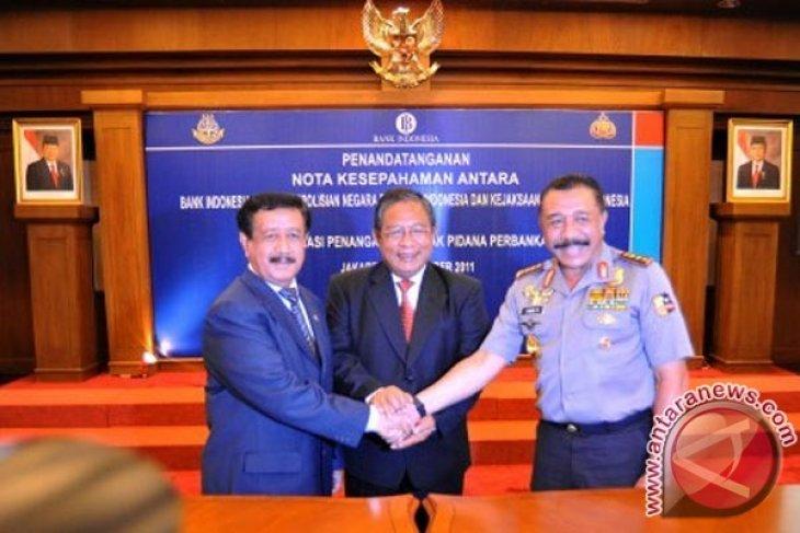 BI, AGO, police sign MoU to handle banking crimes