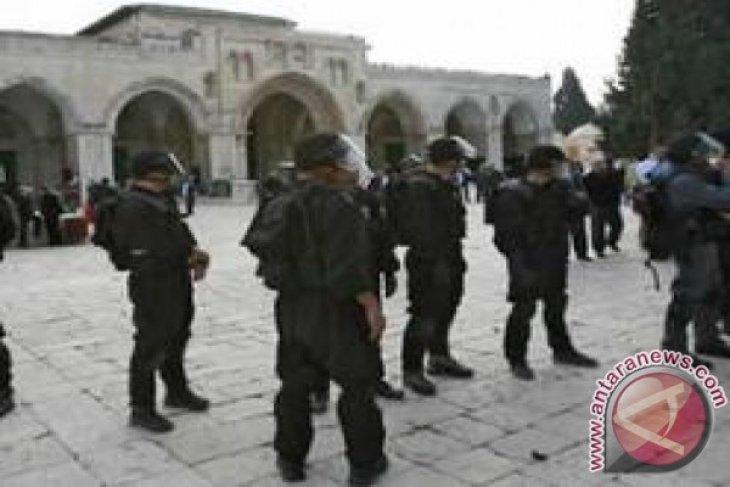 Masjid Al Aqsha terbakar di Jerusalem
