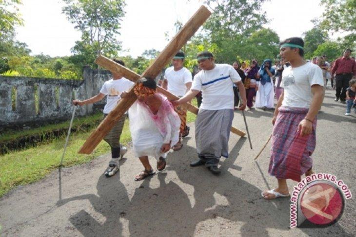 Ribuan umat Nasrani Bengkulu rayakan Paskah