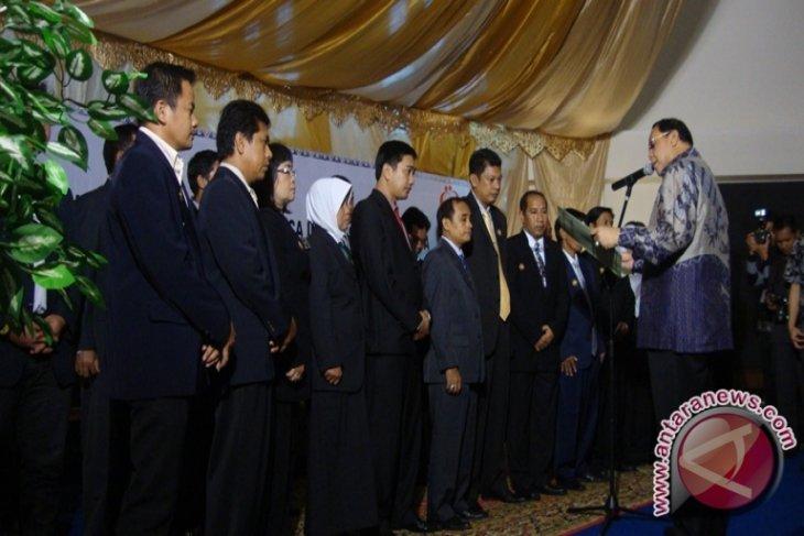 Wali Kota Bontang Kukuhkan Pengurus GPMB