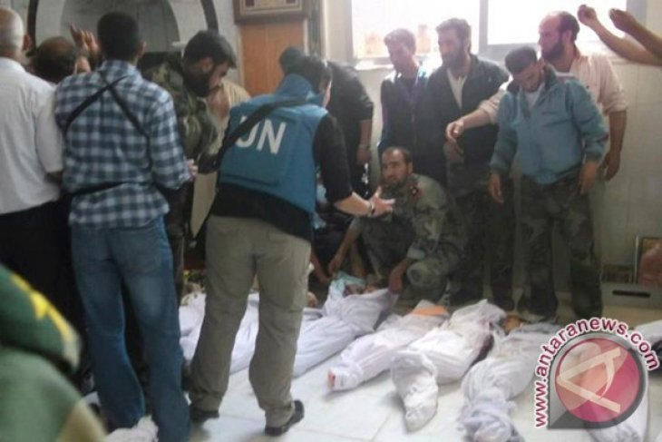 """UN peacekeeping chief reports """"appalling"""" situation in Syria"""