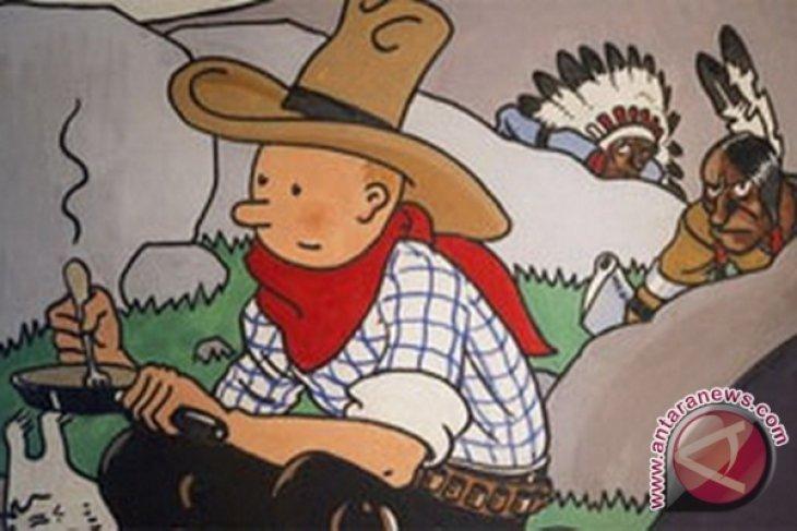 Perangko Tintin-Pulau Komodo Diluncurkan Di Brussel