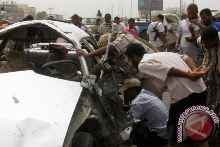 Ledakan bom mobil tewaskan empat orang di Yaman