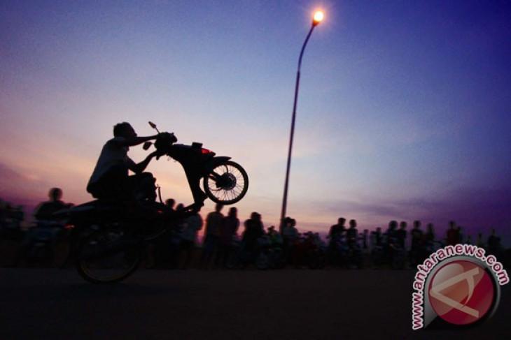 Polresta Tangerang menangkap pembalap liar resahkan pengguna jalan