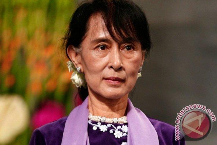 Suu Kyi bertemu Obama dan terima penghargaan Kongres AS