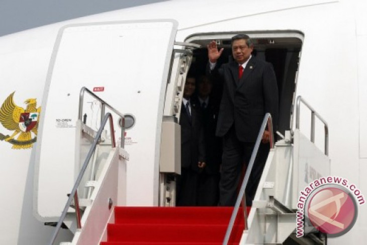 President Yudhoyono starts three-day visit in Britain