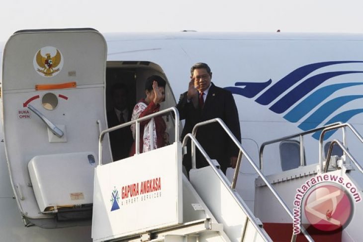 President Yudhoyono leaves for Britain