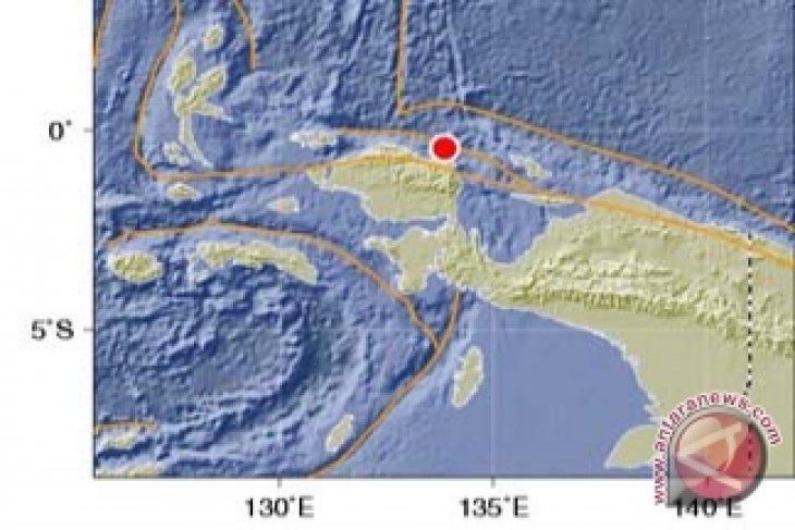 Gempa 4,8 SR Guncang Manokwari