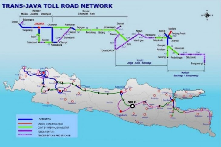 Trans-Java toll road open to public on Friday : SOEs Minister