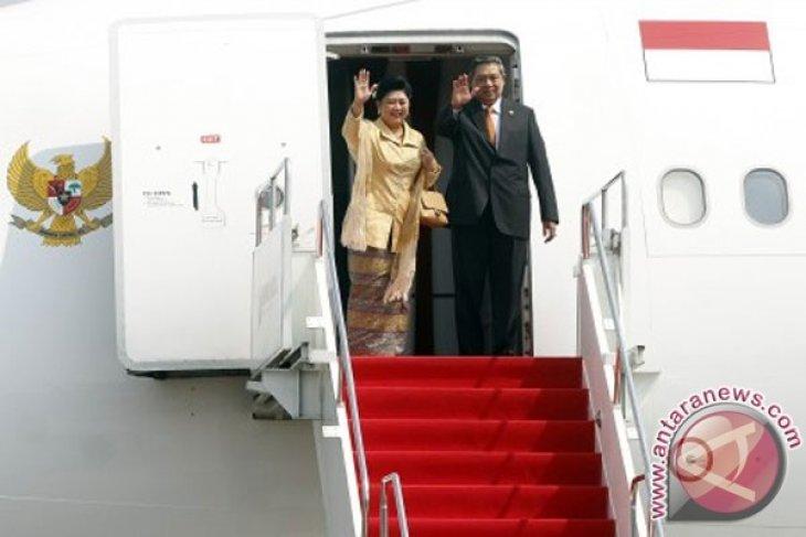 President Yudhoyono arrives in New York