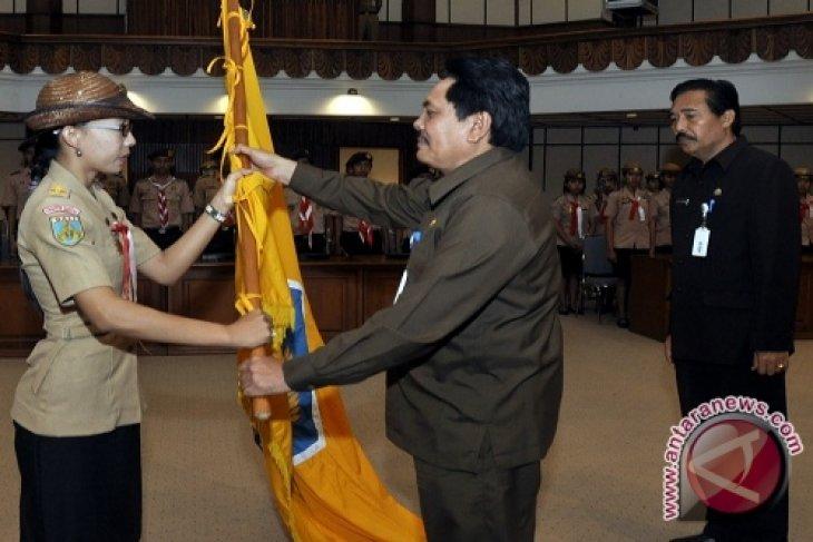 Gubernur Minta Pramuka Bali Berbudaya