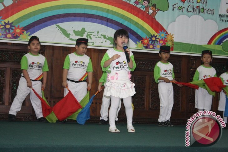 Peneliti: Anak Perlu Asupan Lagu Cinta Indonesia