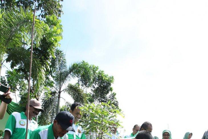 Pemkot Pontianak Tanam 300 Bibit Pohon
