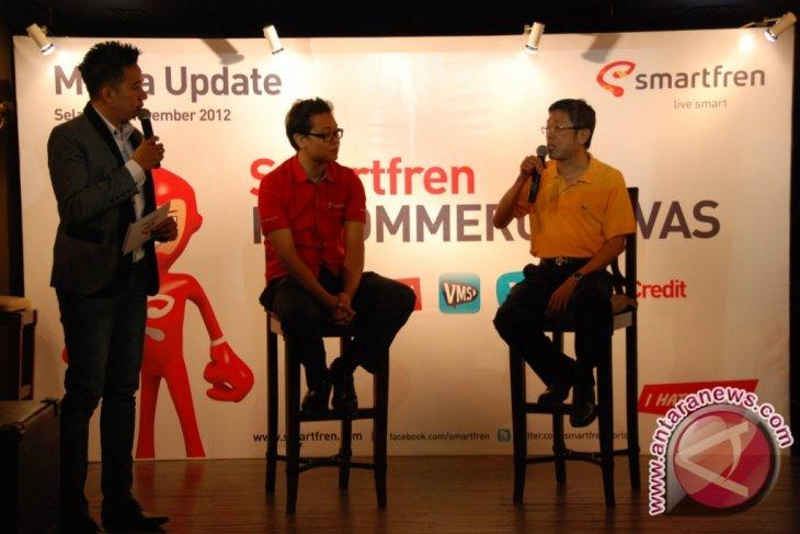 Smartfren tawarkan konten menarik untuk pelanggan