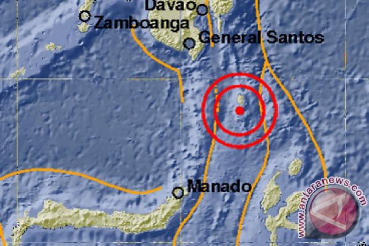 Gempa magnitudo 7,1 mengguncang Melonguane di Sulawesi Utara