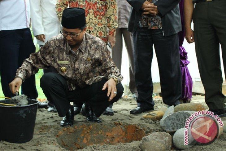 Pembangunan masjid di bandara fatmawati dimulai