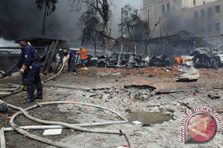 Three killed in Damascus bombing