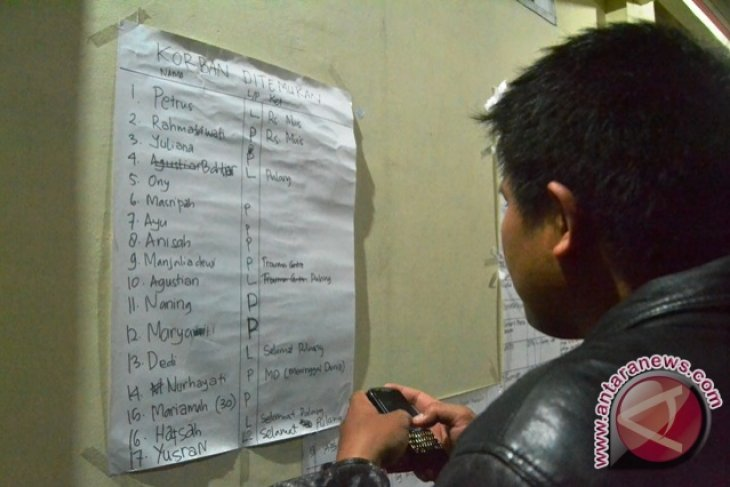 22 Orang Dilaporkan Hilang Akibat Perahu Tenggelam
