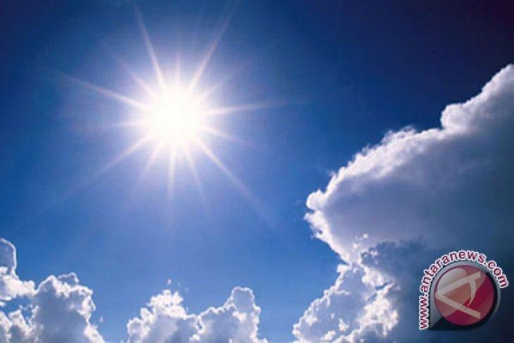 Suhu di Sumut capai 36 derajat celsius