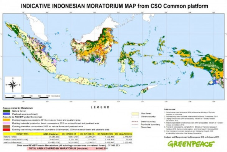 Indonesia urged to extend, strengthen moratorium on deforestation
