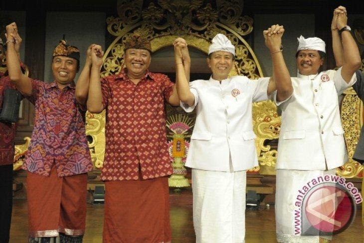 Cagub-Cawagub Bali Tandatangani Deklarasi Kampanye Damai