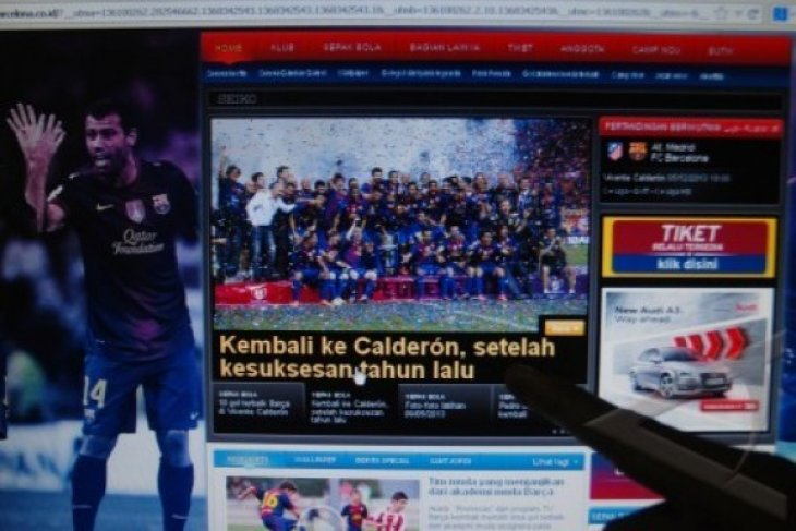 WEBSITE BARCELONA BERBAHASA INDONESIA
