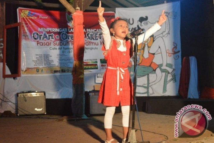 Seniman Bengkulu peringati hari lahir Pancasila