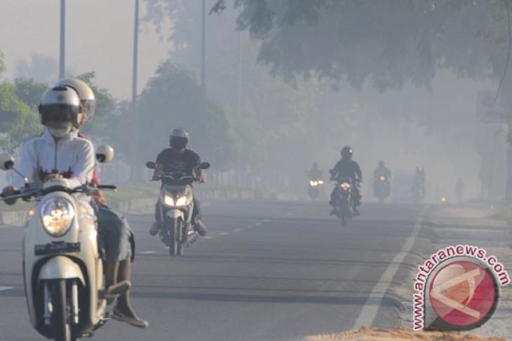 Pekanbaru`s airport shut down due to thick haze