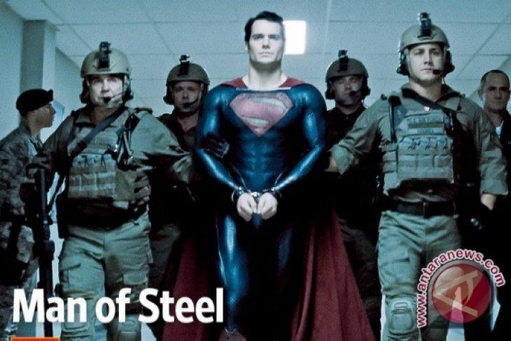 Resensi Film - Man of Steel Gambarkan Superman yang Humanis