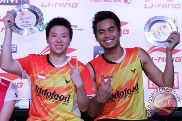 Tontowi/Liliyana wins Singapore Badminton Open champion title