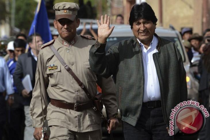 Mantan presiden Bolivia Evo Morales angkat kaki ke Meksiko