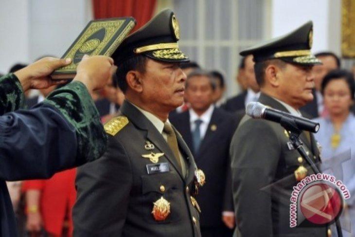Moeldoko Dilantik Jadi Panglima TNI