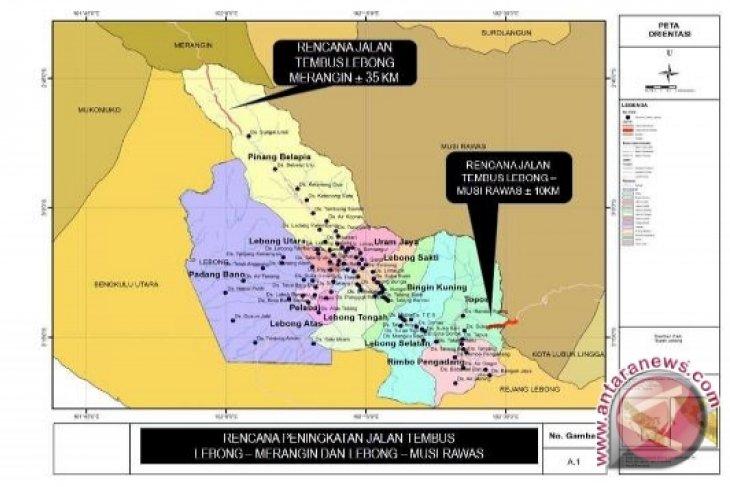 Kabupaten Lebong usulkan dua jalan menembus TNKS