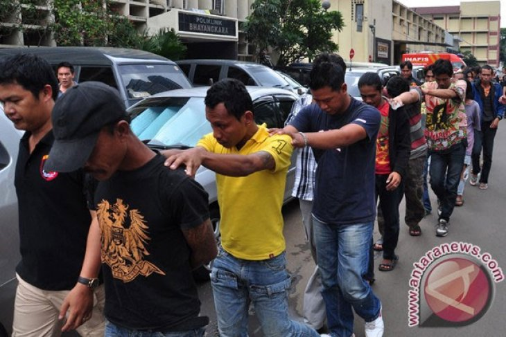 Polres Bogor Kota gelar razia preman