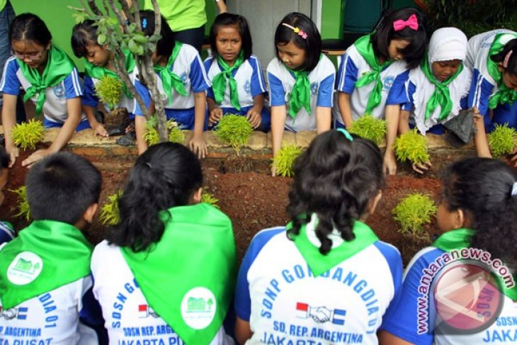 C. Kalimantan launches 10 green schools to support REDD+
