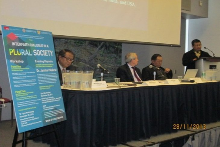 Indonesia promotes and enhances interfaith dialogues
