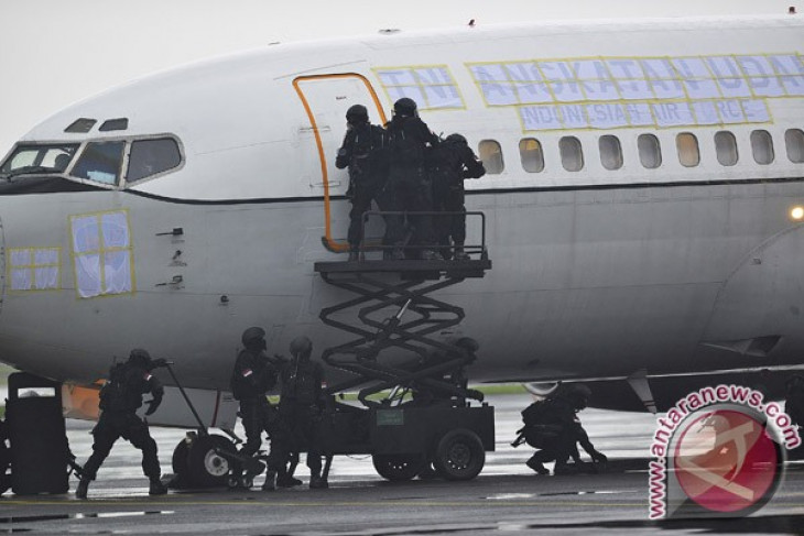 Indonesian army prepared special terror squad for plane hijack attempt