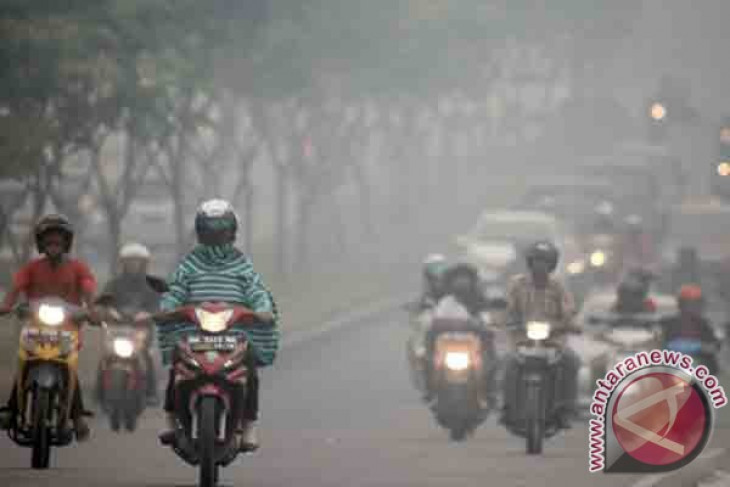 Pekanbaru`s air very unhealthy due to haze