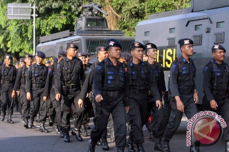 Sebanyak 200 Personil Brimob Digeser ke Papua Barat
