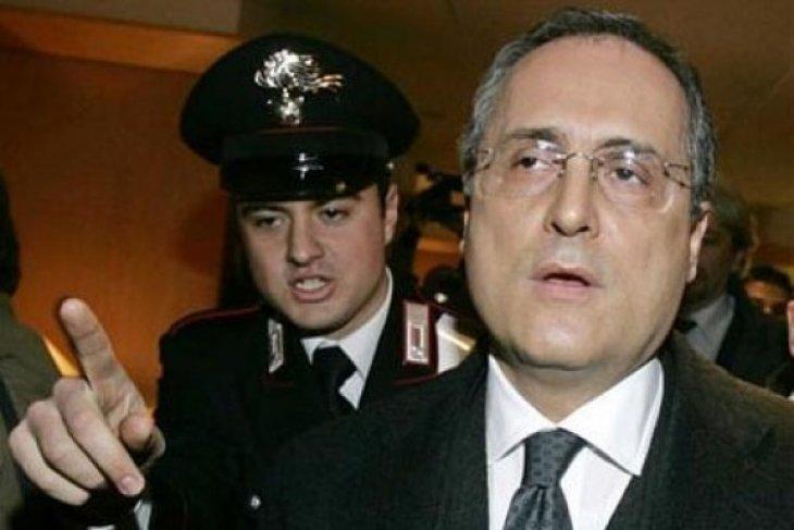 Lazio didenda Rp3,47 miliar terkait prokes