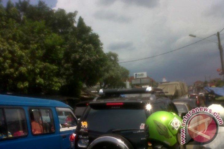 Jalan Protokol Kota Bogor Macet