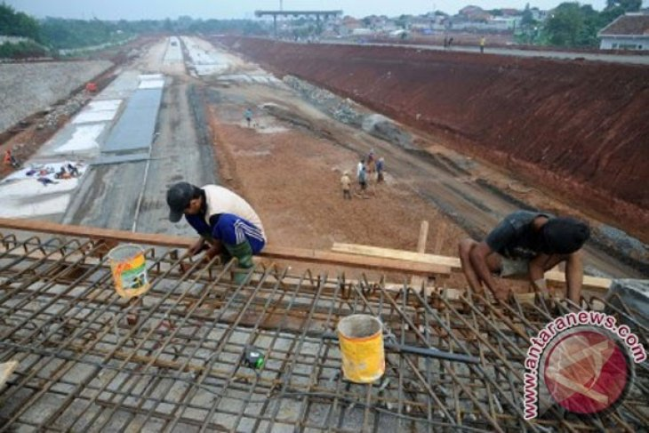 Pembangunan tol Cinere-Jagorawi Depok masuk seksi II