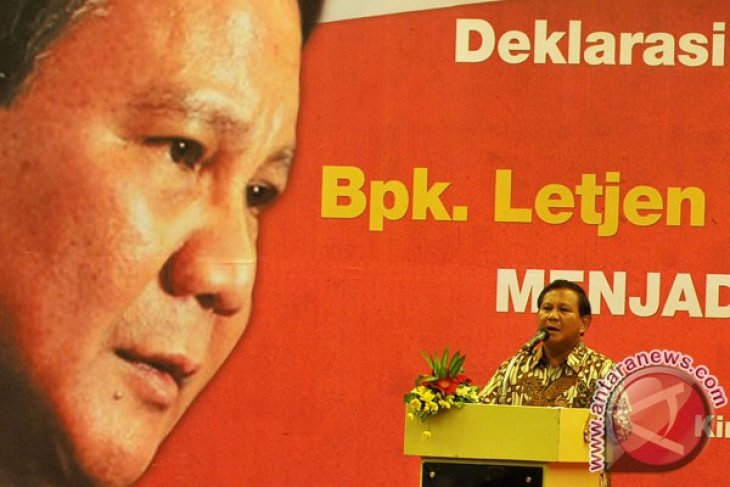 Gerindra communicating with four parties about coalition