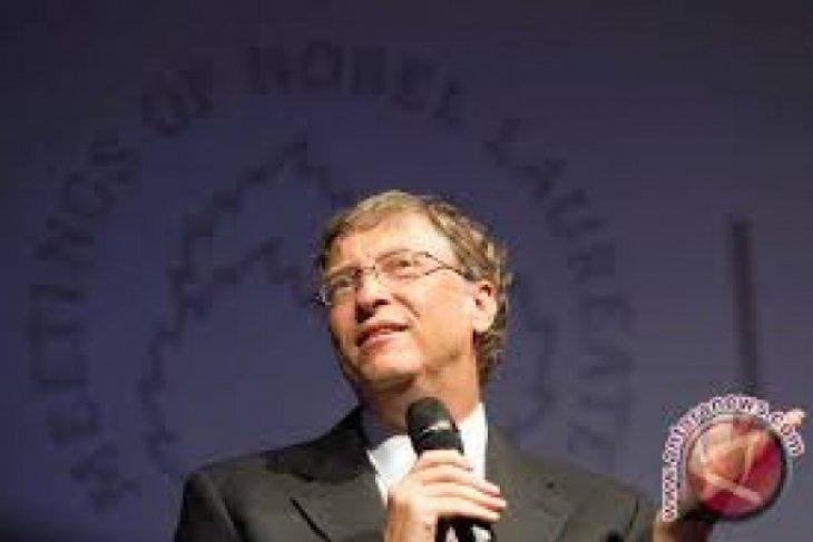 Bill Gates Sumbangkan 40 Juta Dolar AS Berantas Penyakit di Indonesia
