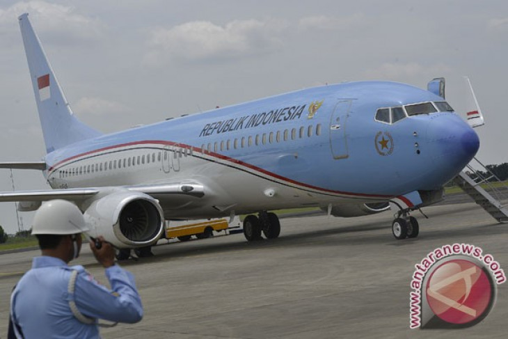 Yudhoyono takes maiden flight aboard new presidential aircraft