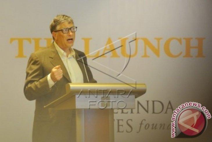 Bill Gates di Jakarta